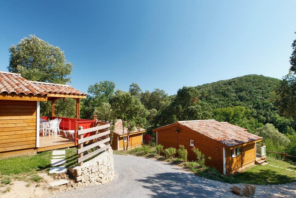 domaine sevenier camping location vacance en ardeche chalet chene blanc 8 - Gallery