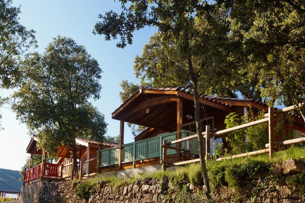 domaine sevenier camping location vacance en ardeche chalet chene blanc 9 - Gallery