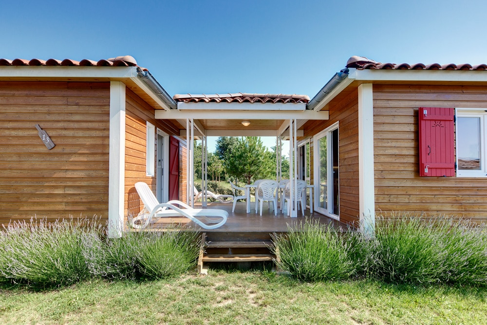 domaine sevenier camping location vacance en ardeche chalet frene 4 - Gallery
