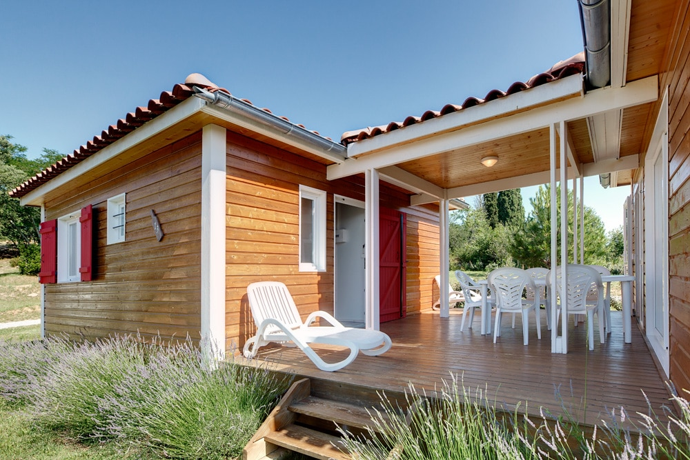 domaine sevenier camping location vacance en ardeche chalet frene 5 - Gallery