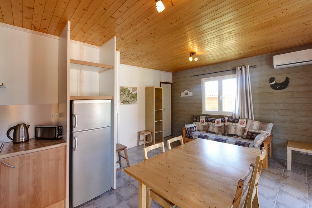 domaine sevenier camping location vacance en ardeche chalet frene 8 - Gallery