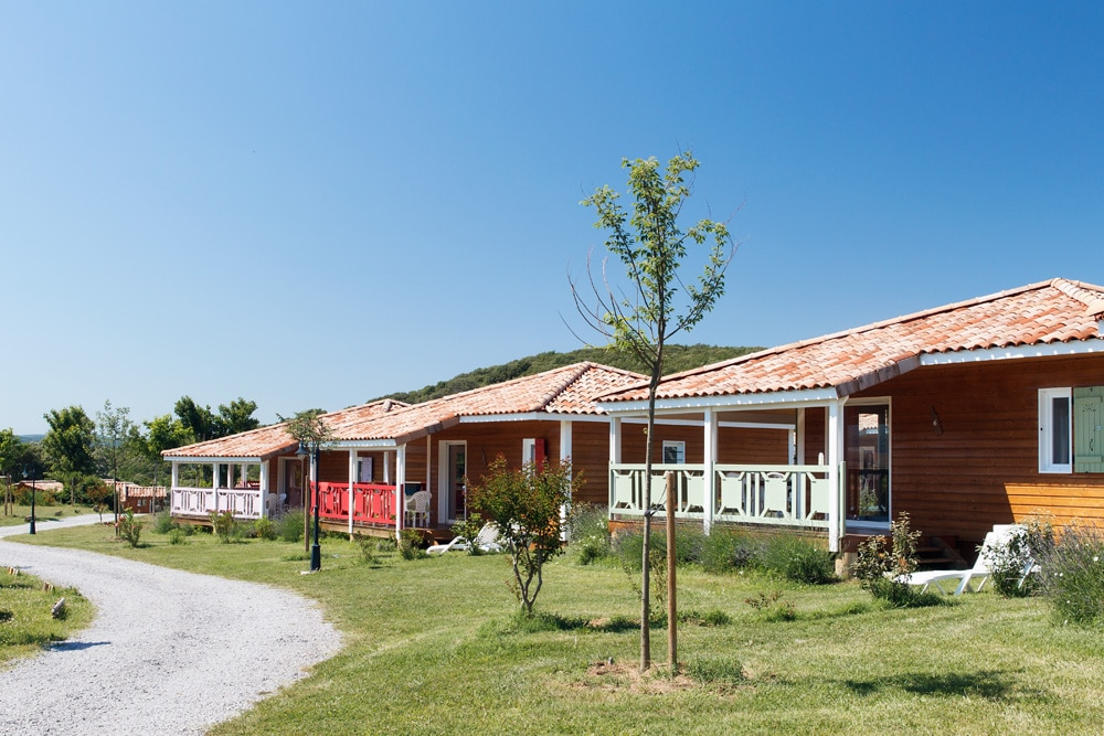 domaine sevenier camping location vacance en ardeche chalet micoucoulier 5 - Gallery
