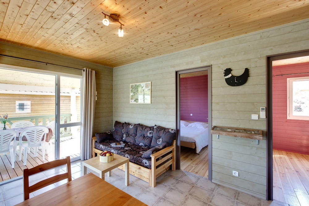 domaine sevenier camping location vacance en ardeche chalet micoucoulier 9 - Gallery