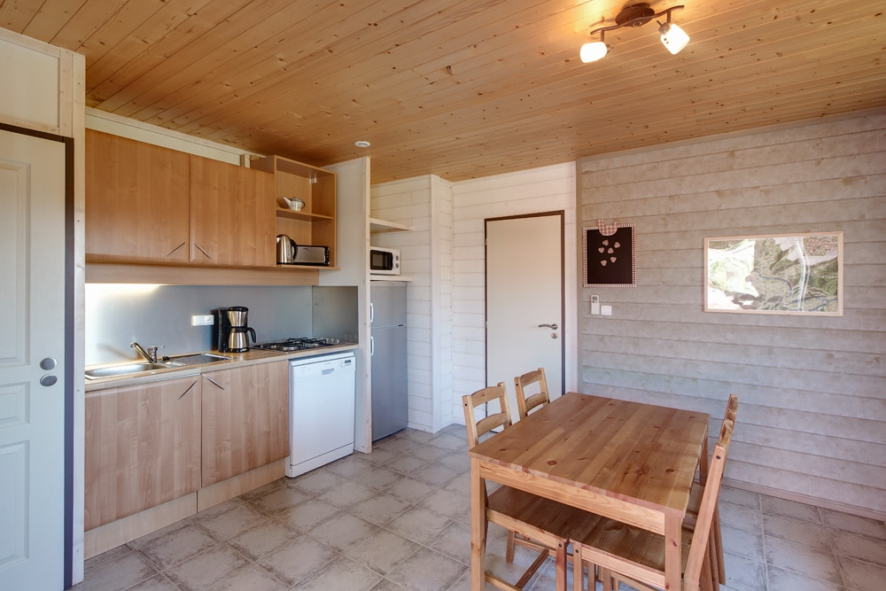 domaine sevenier camping location vacance en ardeche chalet olivier 4 - Gallery