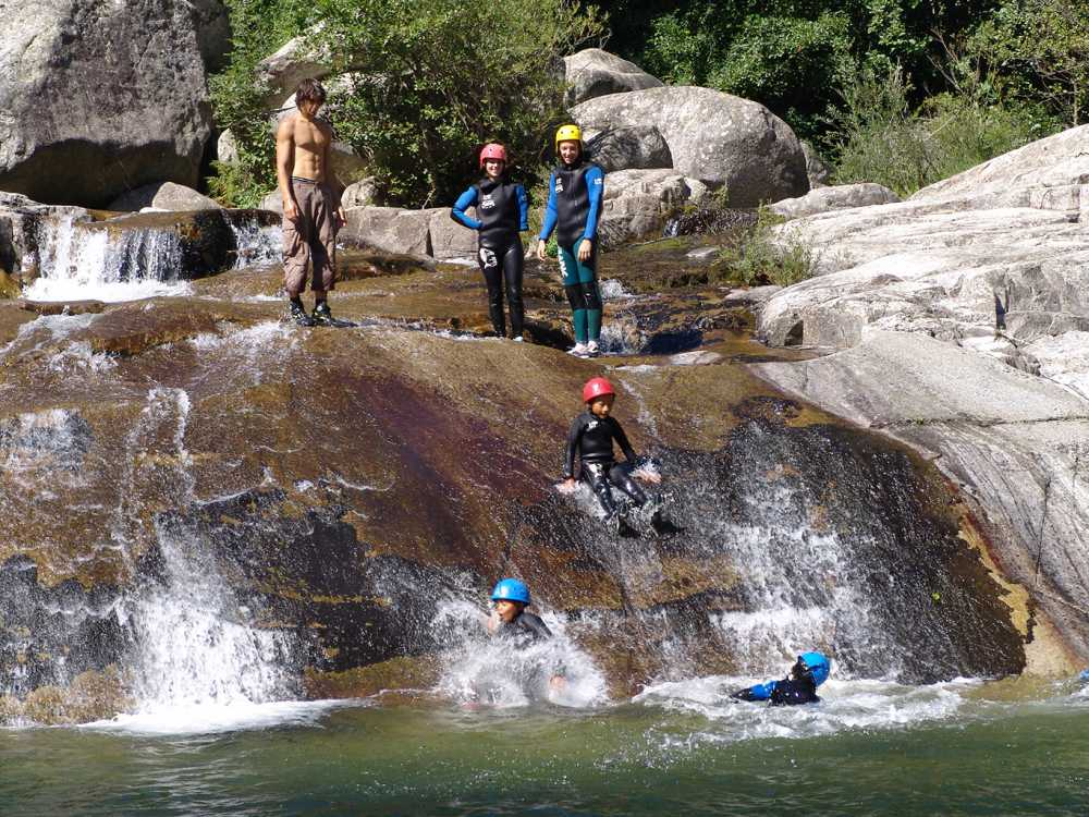 domaine sevenier camping 5 etoiles ardeche alentours sport canyoning - Gallery