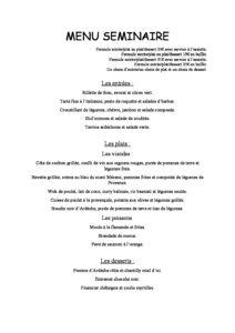 domaine sevenier spa restaurant Menu Séminaire pdf 212x300 - Bar, ice–cream Counter, Restaurant
