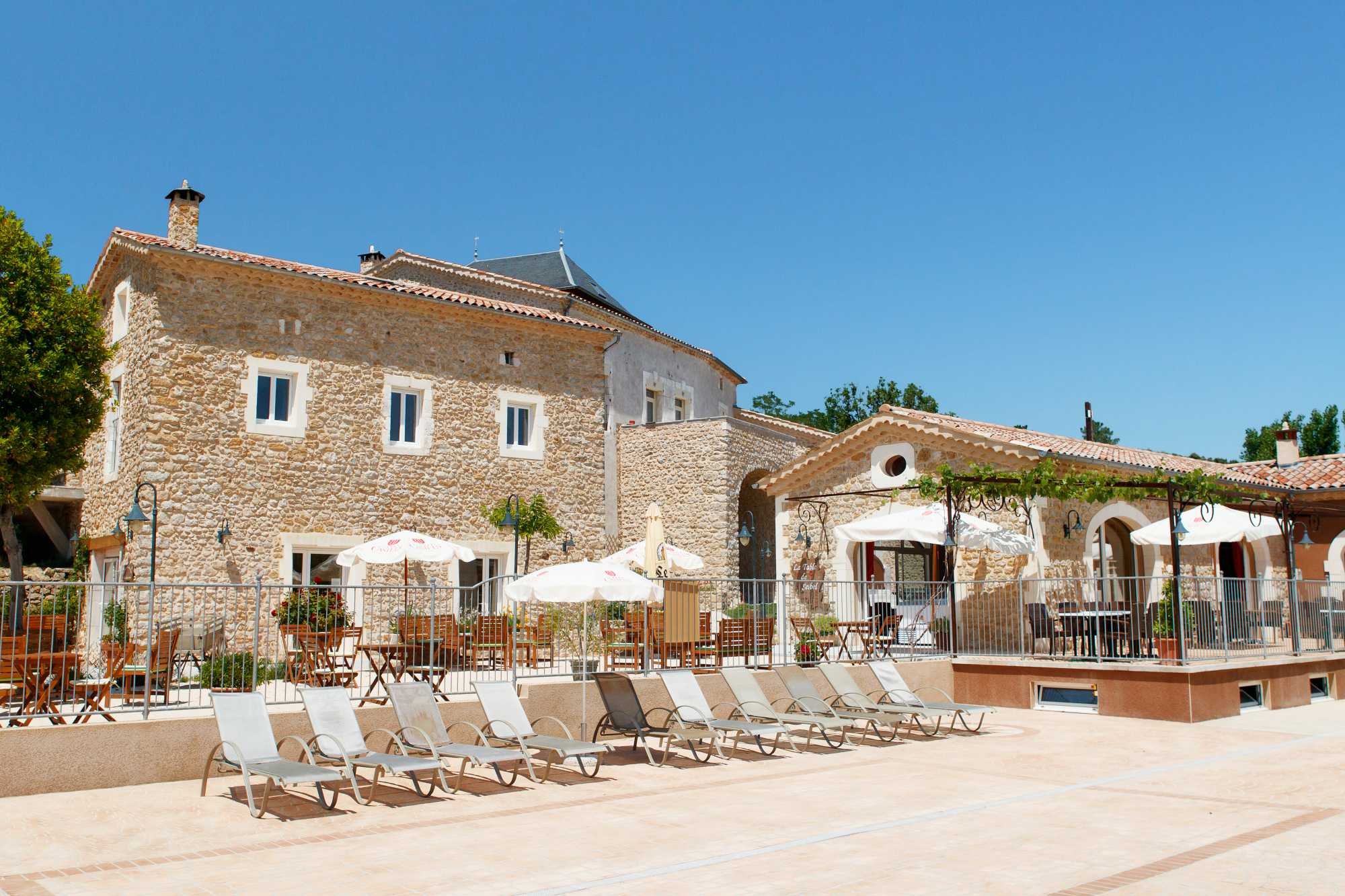 domaine sevenier seminaire ardeche background - On site
