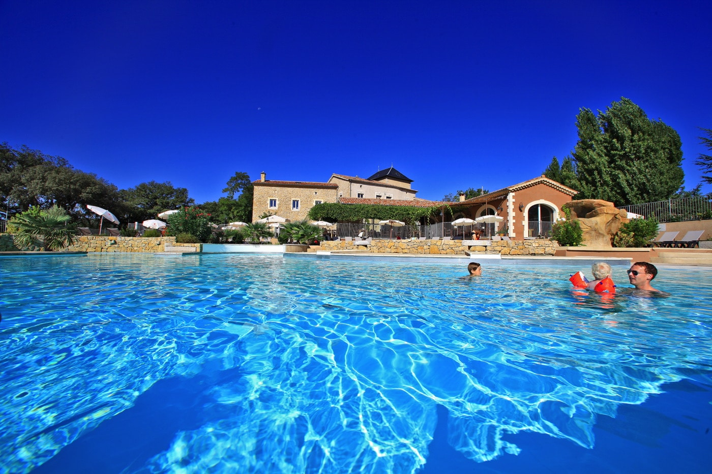 camping Ardèche avec piscine chauffée