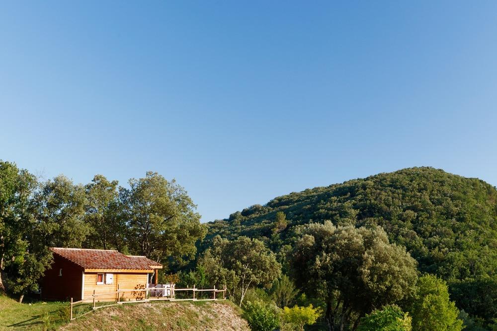 domaine sevenier camping location vacance en ardeche chalet chene blanc 10 - Gallery