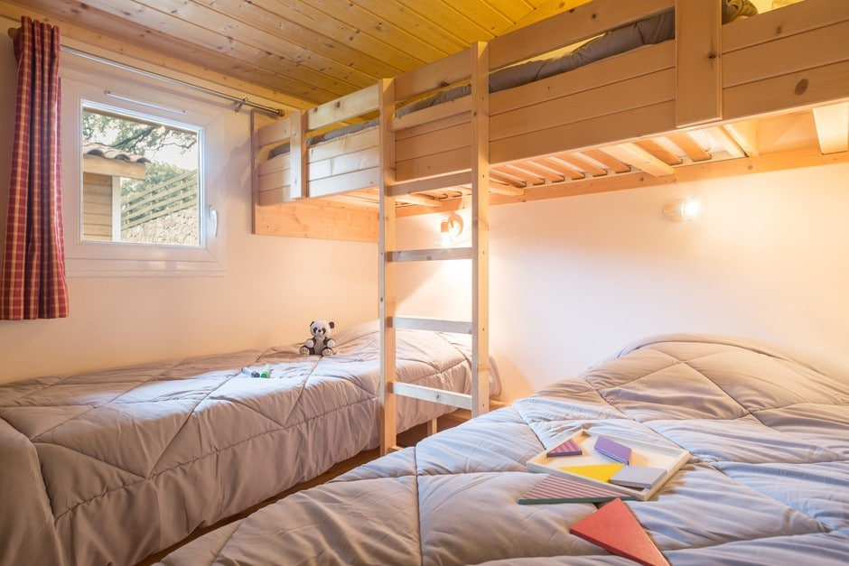 domaine sevenier camping location vacance en ardeche chalet chene blanc 3 - Gallery