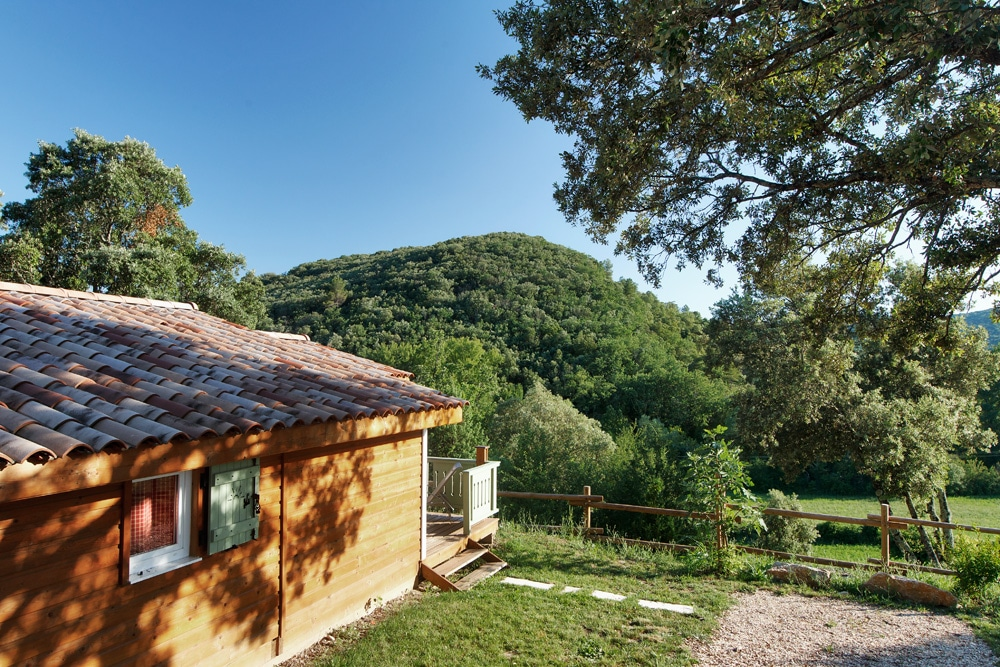 domaine sevenier camping location vacance en ardeche chalet chene blanc 7 - Gallery