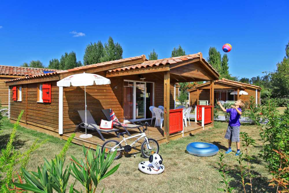 domaine sevenier camping location vacance en ardeche chalet chene vert 10 1 - Gallery