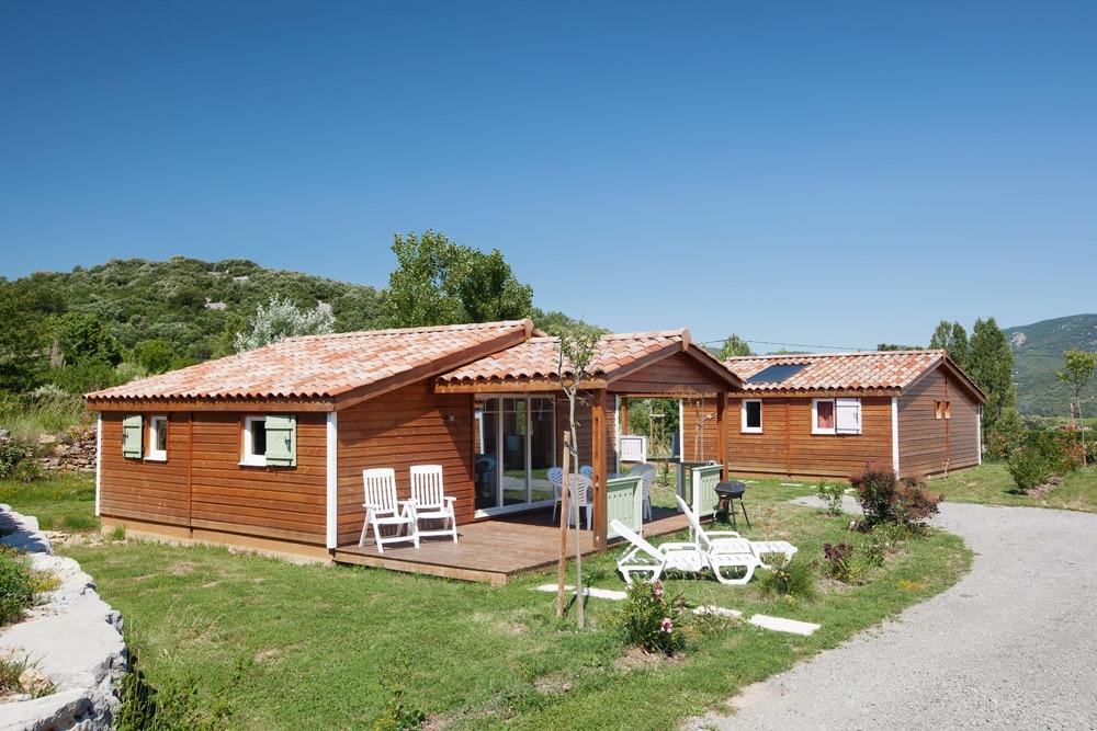domaine sevenier camping location vacance en ardeche chalet chene vert 7 - Gallery
