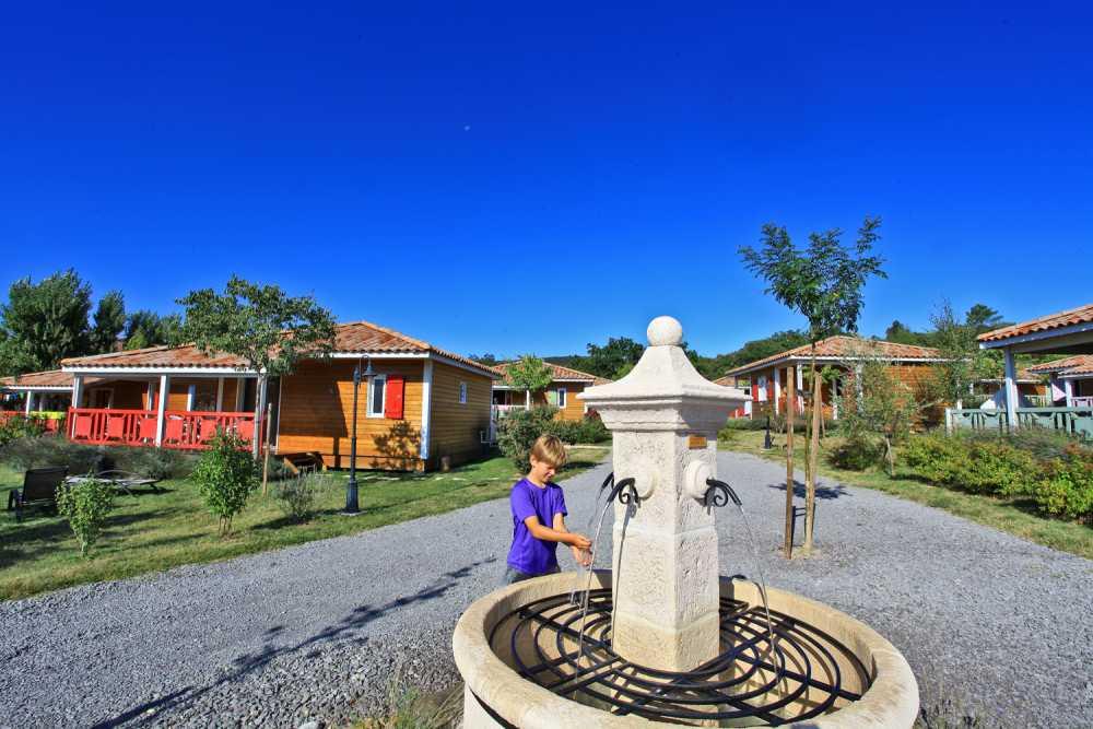 domaine sevenier camping location vacance en ardeche chalet olivier 1 - Gallery