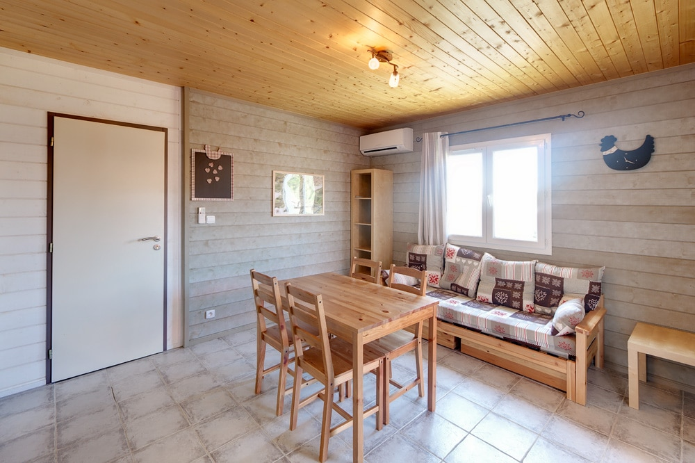 domaine sevenier camping location vacance en ardeche chalet olivier 6 - Gallery