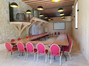 domaine de sevenier and spa seminaire Vue salle 2 300x225 - Seminar / Reception