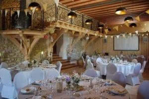 domaine de sevenier and spa seminaire vue salle 1 300x200 - Seminar / Reception