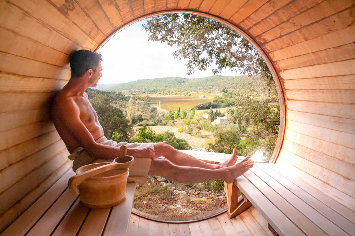 domaine de sevenier bulle bien etre sauna - Well-being (Spa)